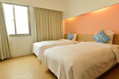 双床二人房
