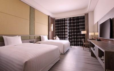 豪華街景雙床客房