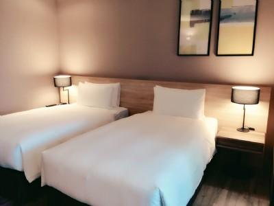 竹月雙床客房
