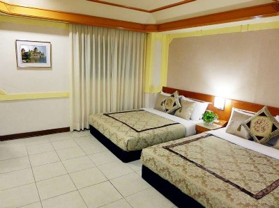 標準雙床4人房
