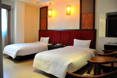 精緻雙人房二小床