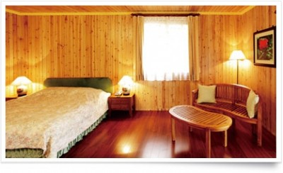 木屋温馨双人套房(1大床)