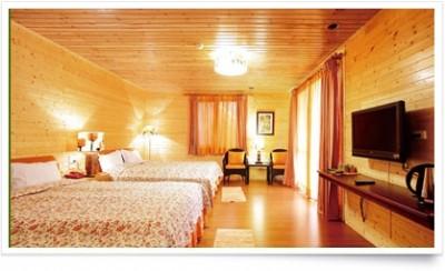 木屋温馨家庭房(2大床)