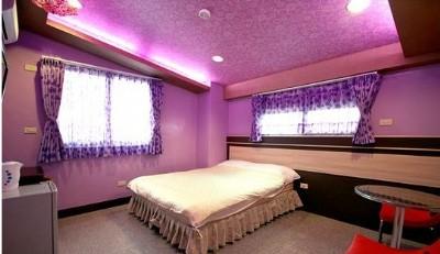 503紫色恋人2人套房