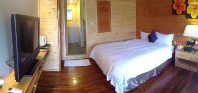 新鲜林间木屋--两人房