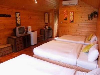新鲜林间木屋--六人房