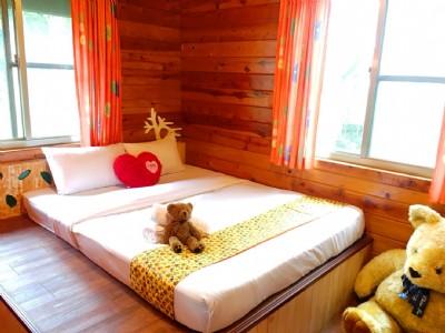 雙人雙床獨棟木屋